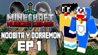 EMPIEZA LA AVENTURA | Noobita y Doraemon en los Juegos del Hambre | Ep. 1