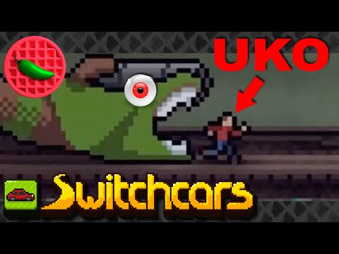 Uko & The Time Whale Rematch! -- Let's Play Switchcars (Steam PC Roguelike)