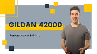Gildan 42000 Performance T-Shirt | Blankapparel.ca