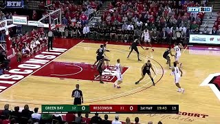 Highlights: Six Badgers in Double-Figures in a Win | Green Bay at Wisconsin | Nov. 21, 2019