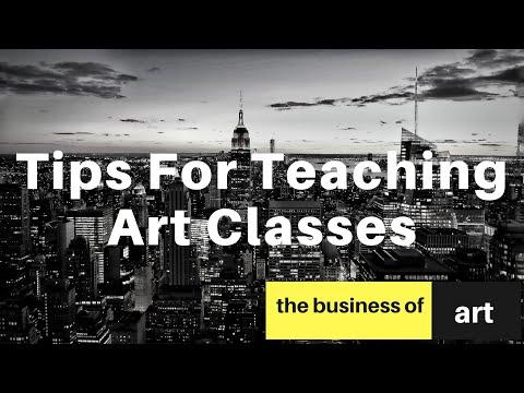 tips-for-teaching-art-classes