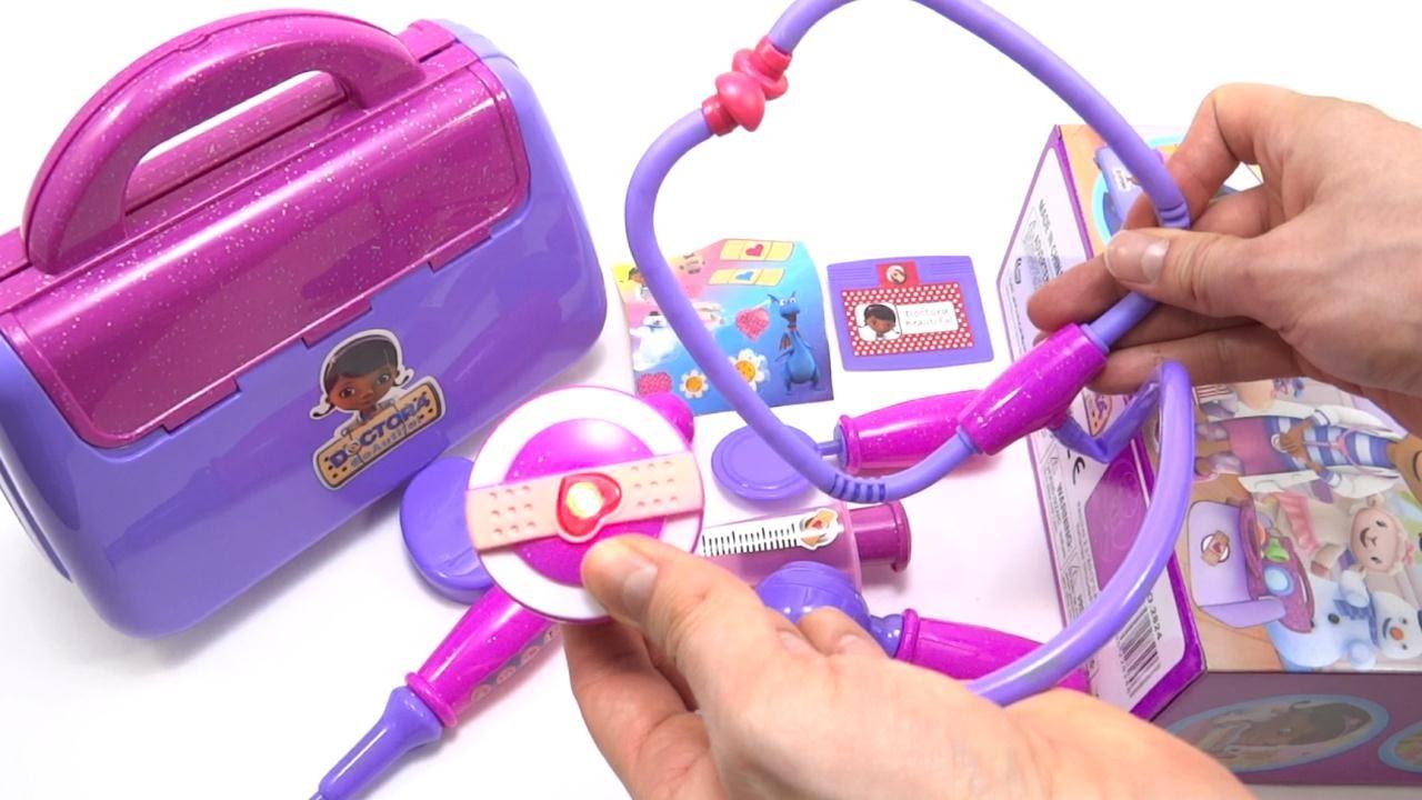 Maletin De La Doctora Juguetes Doc McStuffins Playset Set De ...