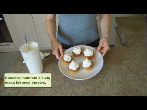 Masa lukrowa do babeczek oraz do formowania róży na tort