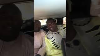 Lac2,Gouy gui,Abdou Diouf et Pape Mama en toute complicité en partance pour les obsèques de la soeur