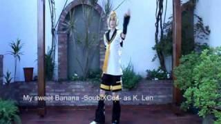 My sweet banana- Para para - Kagamine Len cosplay