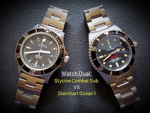 Glycine vs Steinhart: The Best Budget Swiss Diver Dual