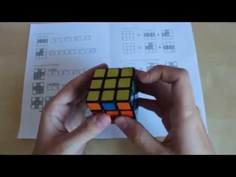 [Обучалка] Как собрать Кубик Рубика