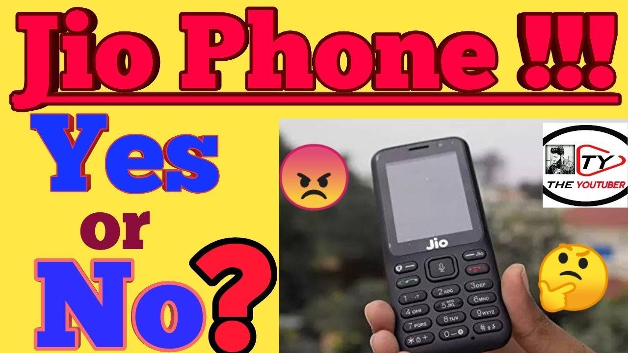 JIO PHONE 1500 ME SAHI HAI YA NAHI !! PROS AND CONS !! The YouTuber !! YES OR NO ??