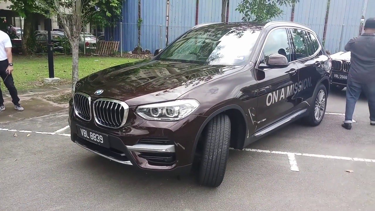 2018 bmw x3 g01 malaysia first drive review guest. Black Bedroom Furniture Sets. Home Design Ideas