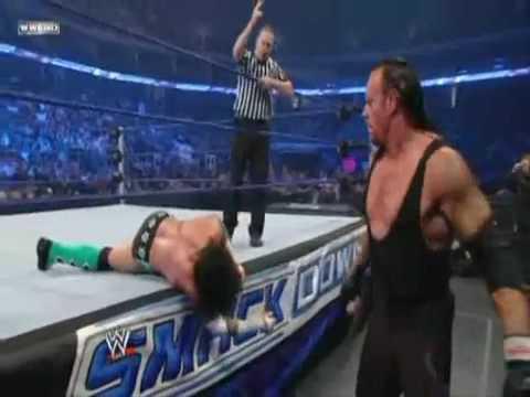 WWE Smackdown 25/09/09 [HD] Undertaker vs Cm punk part 1