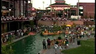 Bricktown Canal grand opening, July 2, 1999