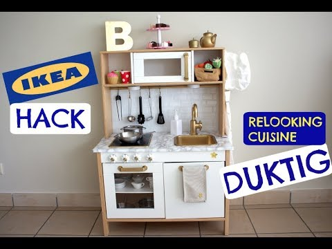 relooking cuisine enfant ikea duktig youtube. Black Bedroom Furniture Sets. Home Design Ideas