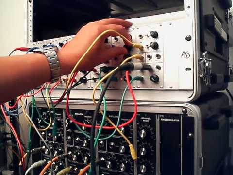 small analogue systems modular synthesizer demo youtube. Black Bedroom Furniture Sets. Home Design Ideas
