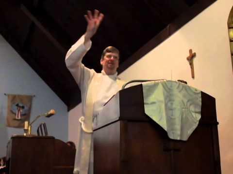 Nov 2014 Sermon - St John's Episcopal Church, Charlotte, MI, USA