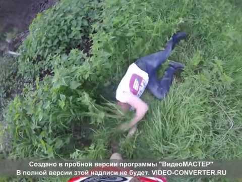 Водитель напал на мотоциклиста