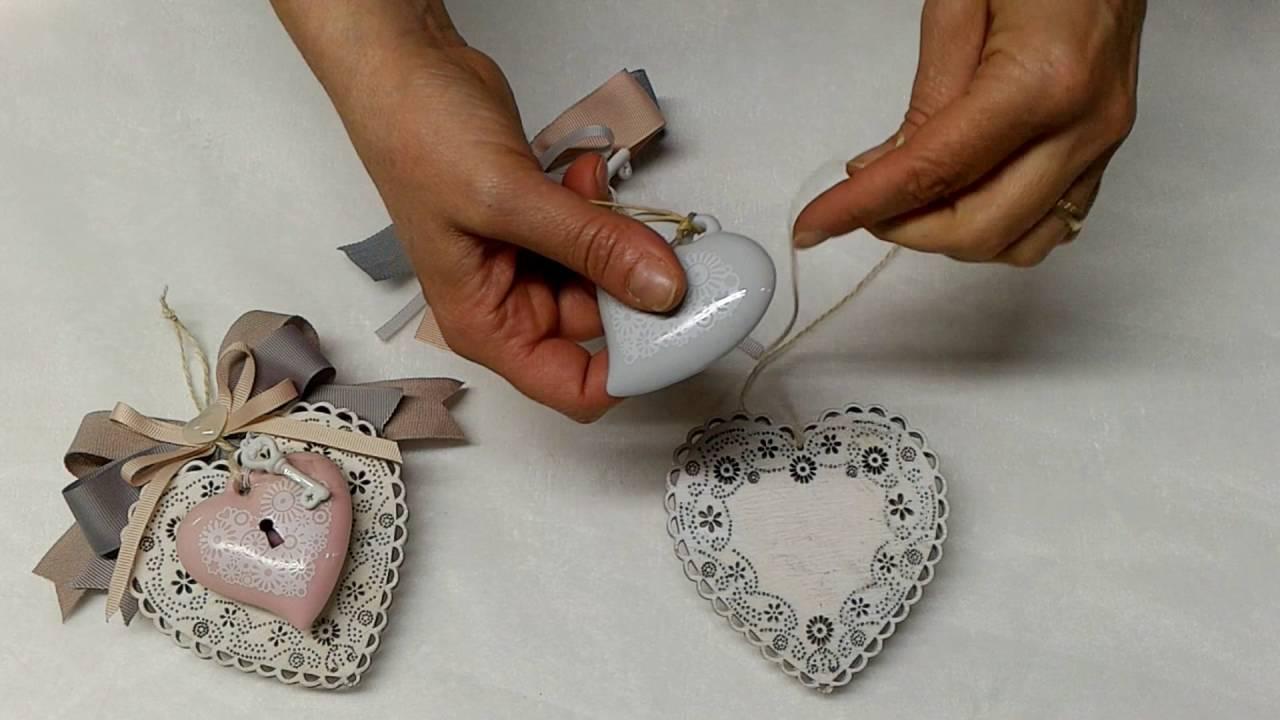 Bomboniere Matrimonio Homemade.Tutorial Bomboniera Matrimonio Con Cuori Ildettaglio Com Youtube