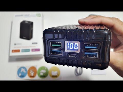 ZENDURE A8 QC3 POWER BANK - 26,800mAh - 4 USB PORTS