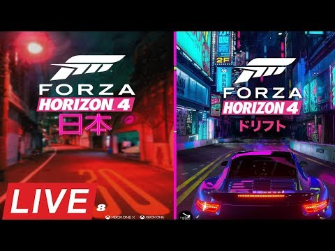 🔴FORZA HORIZON 4 LIVE REVEAL//LIVE REACTION//JAPAN OR UK?
