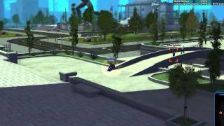 City of Heroes - gameplay Force Field controller - Repulsion Field