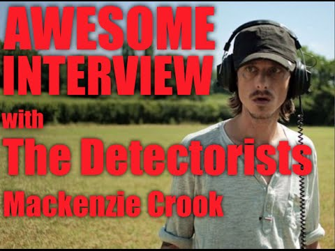 with The Detectorists' Mackenzie Crook