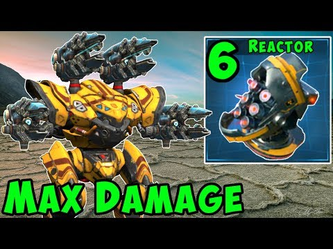 Max Damage SCOURGE SPECTRE Mk2 Allround Sniper - War Robots Gameplay WR