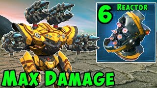 Max Damage SCOURGE SPECTRE Mk2 Allround Sniper - War Robots Gameplay WR
