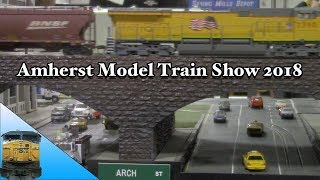 Amherst Train Show 2018 | Model Train Show Travels