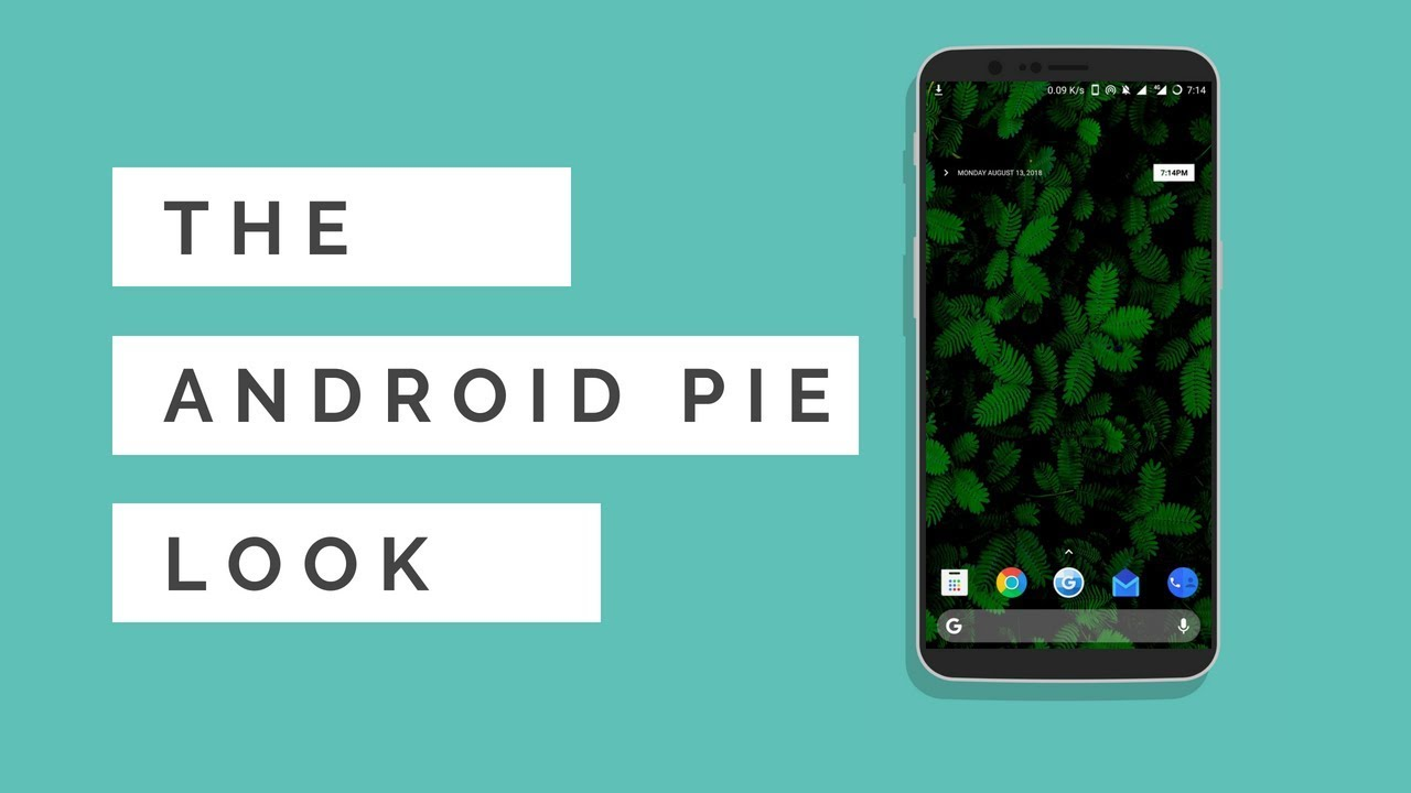Android PIE Look v 2 | Nova Launcher Theme/Setup