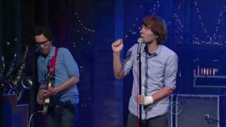 phoenix   1901 live on letterman 18 juin 2009