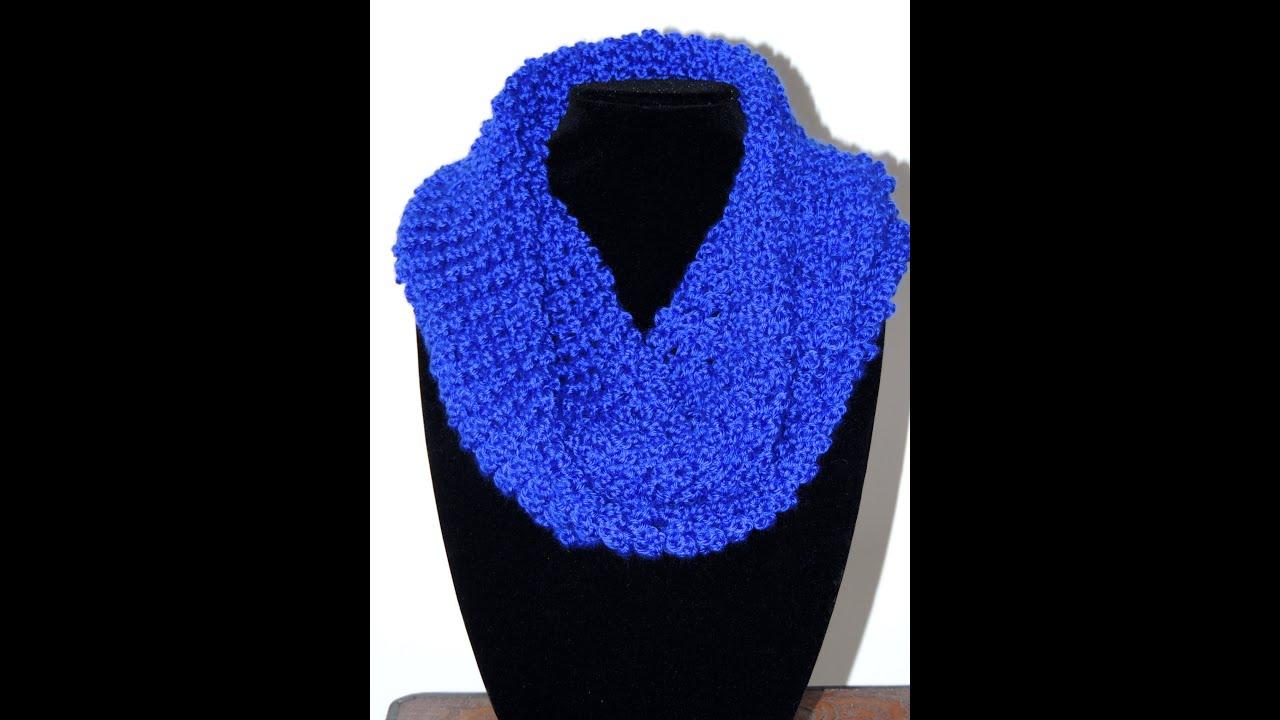 Crochet  Bufanda Tubo