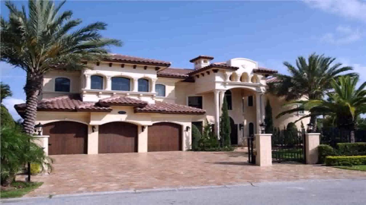 Spanish Style spanish style house with courtyard - youtube