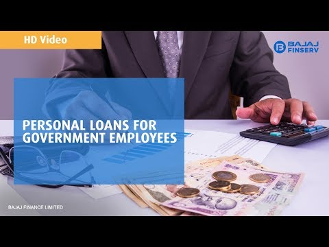 Apply Online Personal Loan for government employees | Bajaj