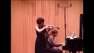 R.Strauss: Violin Sonata op.18 in E-flat major (2/3) - Chiara Morandi, violin; Joachim Kist, piano