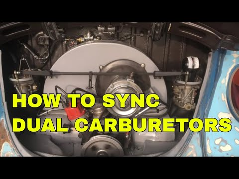 How To Synchronize Dual Carburetors On Your Volkswagen