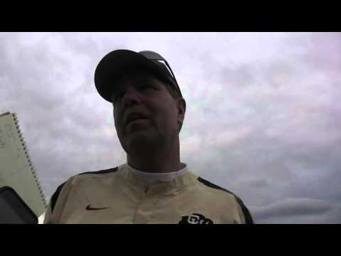 Rip Scherer, CU Quarterbacks Coach