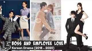 [Top 15] Best Boss And Employee Love Korean Drama [Updated KDrama List - 2018 to 2020]