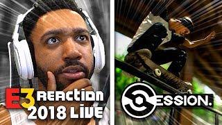 SESSION LIVE REACTION! - XBOX [E3 2018]