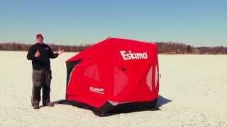 Eskimo EVO2 Crossover Shelter Setup