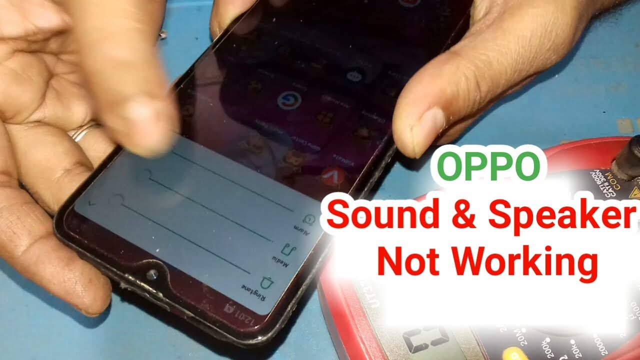 CPH9 no sound from external speaker in android mobile how to fix it