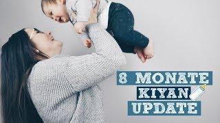 Baby Update | 8 Monate | Entwicklung, Essen, Schlafen | Jessi's Momlife
