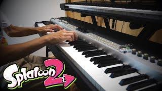 【スプラトゥーン2】ピアノで不意打ちのセオリー 弾いてみた【キーボード】Spl…