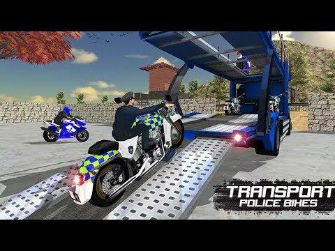 Offroad Police Moto Bike Transport Game Bike Games Police Games