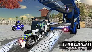 OFFROAD POLICE MOTO BIKE Transport Game #Bike Games #Police Games For Kids #Dirt MotorCycle Games