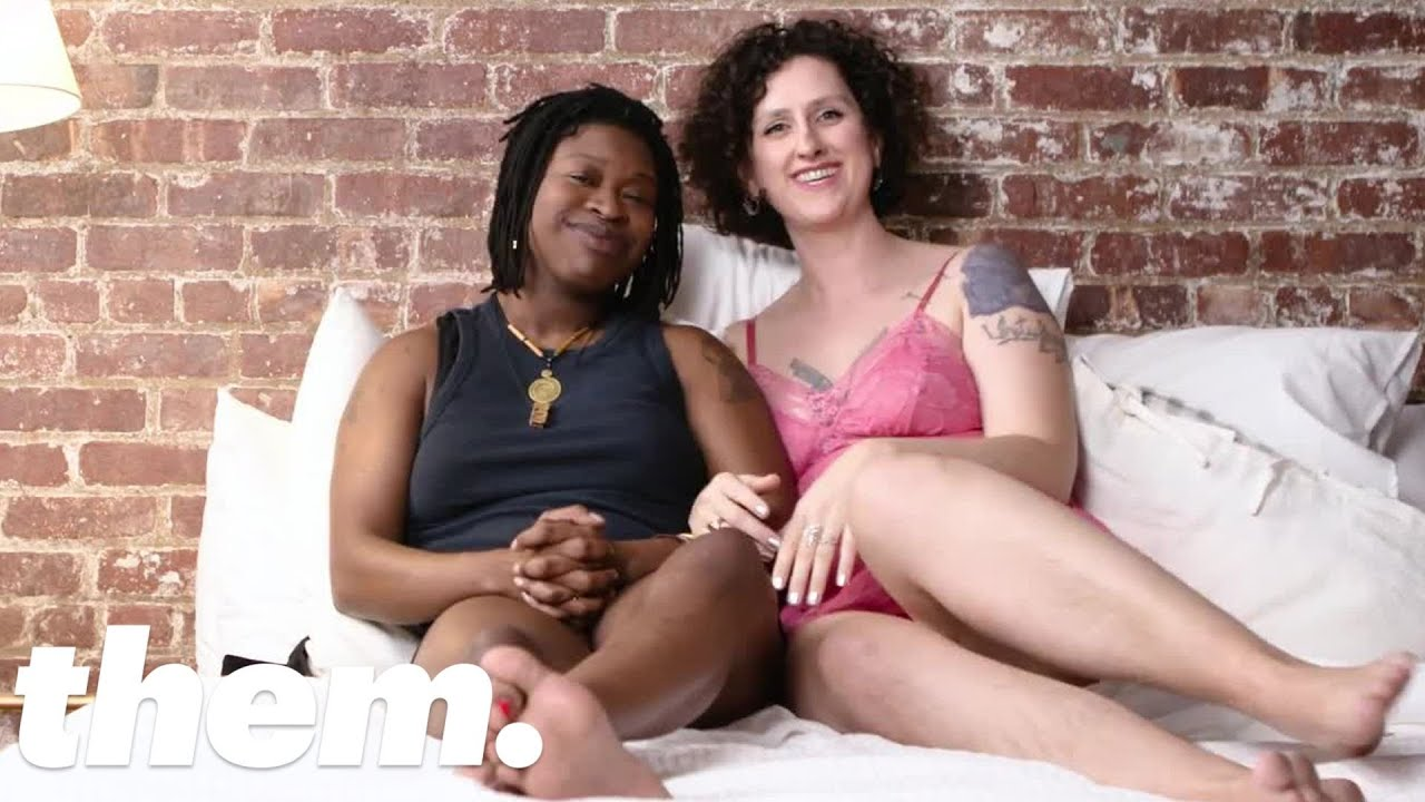 This Lesbian Couple Talks About Their First Threesome | them.