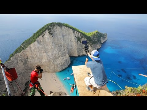 600 foot Insane Rope Swing Behind The Scenes