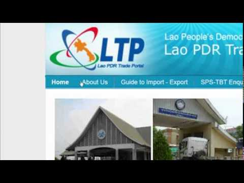 Lao Trade Portal (c) 2012 Ministry of Industry and Commerce of Lao PDR, All rights reserved