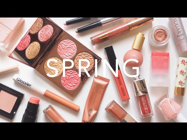 Spring Makeup | Refreshing Rosy Pink and Peach Colour Mood | AD