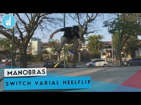 Como mandar switch varial heelflip | sobreskate
