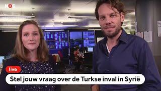 LIVE: Turks leger voert aanvallen uit, stel hier jouw vragen