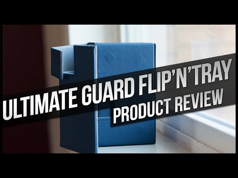 Ultimate Guard Flip'n'Tray Xenoskin Deck Case Review